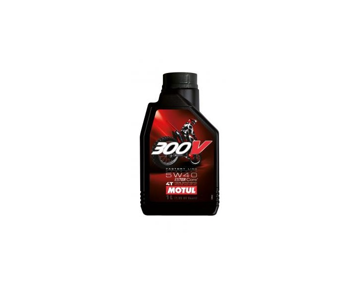 Motul 300V 4T Factory Line 5W40 Off Road