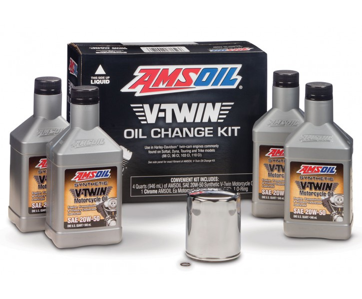 Amsoil V-Twin Oil Change Kit