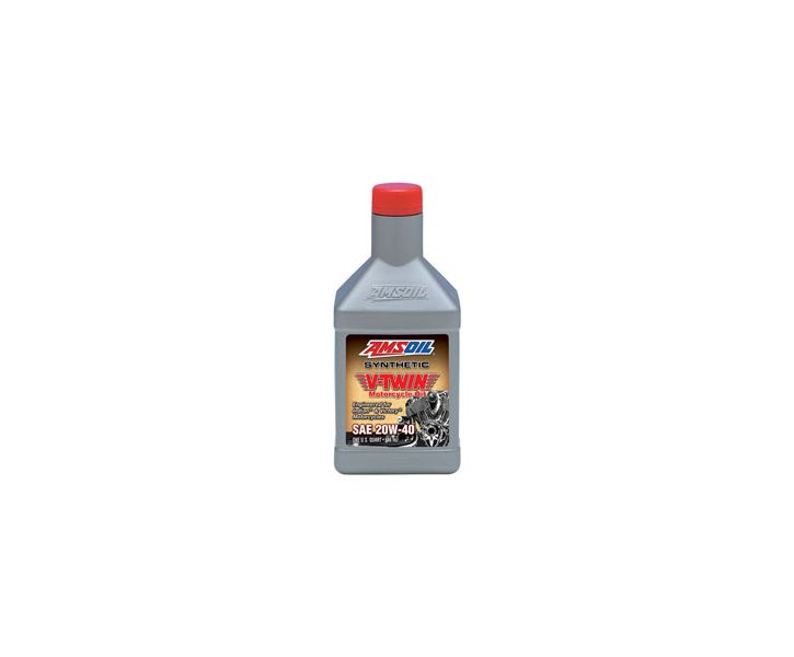 Amsoil Synthetic V-Twin 20W40 Motorcycle Oil